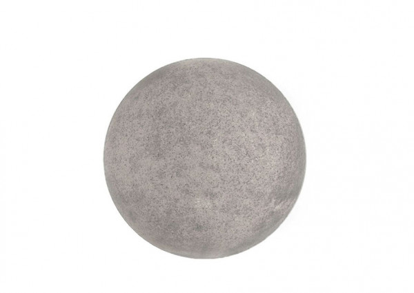 Ball lamp granite for indoor and outdoor use - switched on