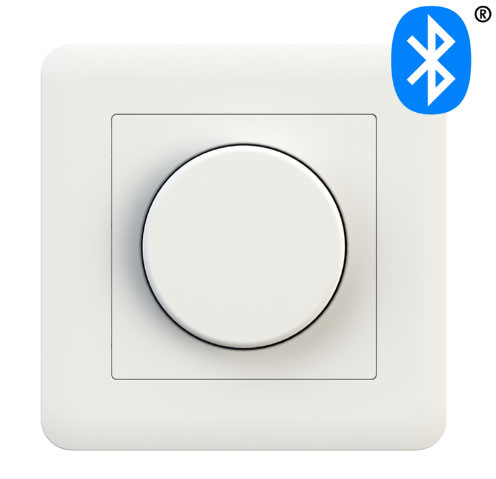 LED rotary dimmer 0-200W with Casambi-radio technology