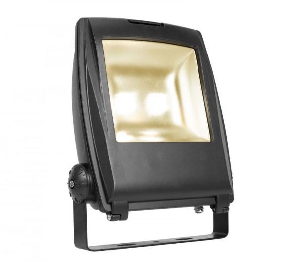LED Objekt- oder Pflanzenstrahler in Oberfläche schwarz mit 2m Zuleitungskabel und offenem Kabelende