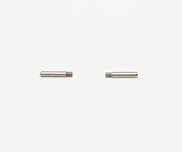 Pair of threaded pins for the lower socket of the ELEMENT 4 or 5 luminaire from the YaYaHo cable system by Ingo Maurer