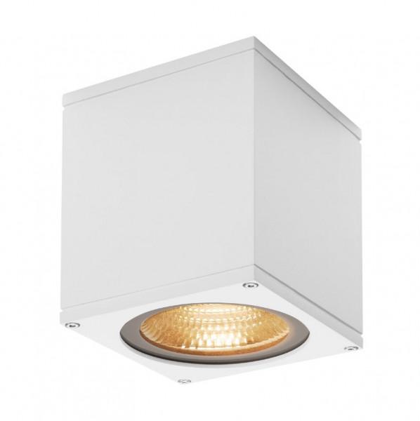 Sehr helle LED Deckenleuchte in Oberfläche weiß mit einer 21W LED und einem Lichtstrom von 2000lm