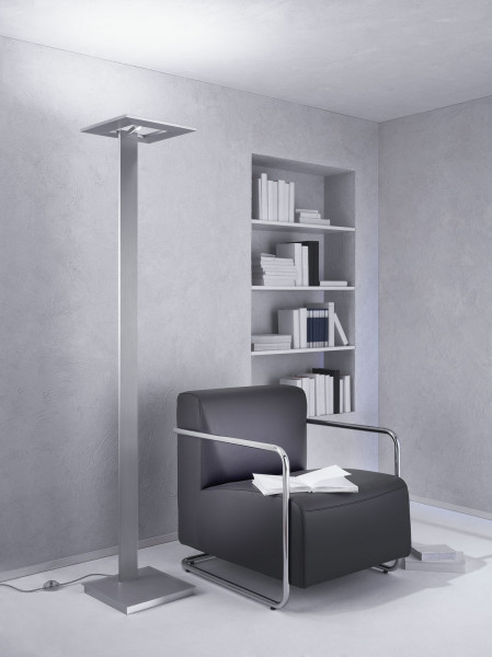 Floor lamp ZEN by Escale, consisting of a reading light and a ceiling washer