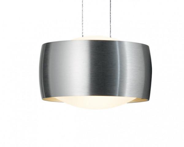 Leuchtenkopf Version Aluminium gebürstet