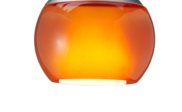 Replacement glass lamp BALINO - here the version Orange shiny
