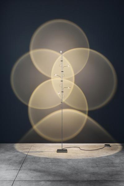 Floorlamp Wa Wa terra from Catellani & Smith