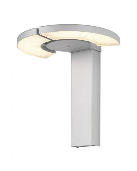 LED-Wandleuchte TRINITY von Oligo - hier die Variante in Chrom matt