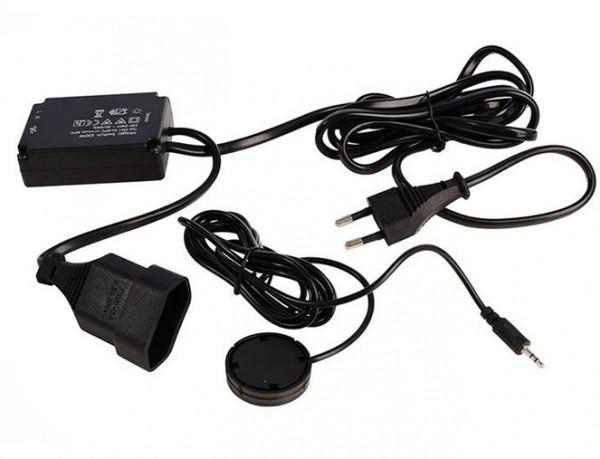 Magischer Schalter zum berührungslosen Schalten von elektrischen Verbrauchern mit max. 250W