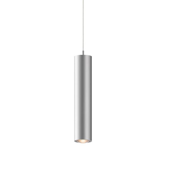 LED Pendelleuchte STAR 55 für das 230V Schienensystem DUOLARE von Bruck - hier die Variante in Oberfläche chrom matt