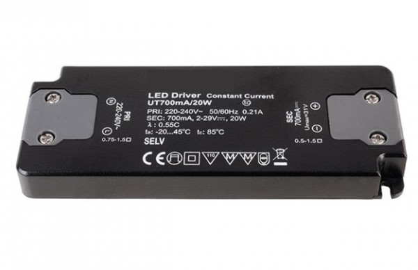 LED converter 700mA, 20W, not dimmable