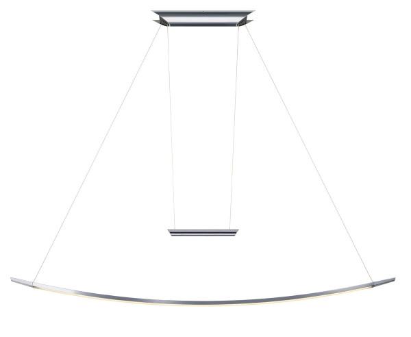LED Pendelleuchte LISGO SKY aus dem OLIGO Programm - hier die Variante mit Oberfläche Chrom