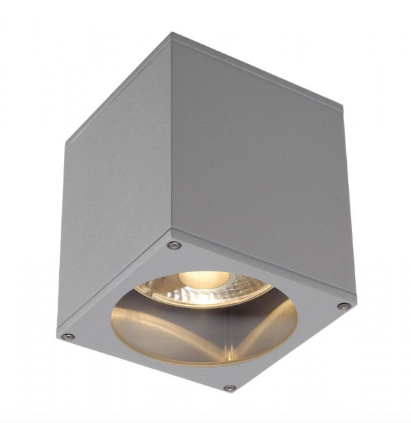 LED ceiling spotlight for interchangeable GU10 / QPAR111 LED or halogen lamps. Available in the surfaces white, gray and anthracite