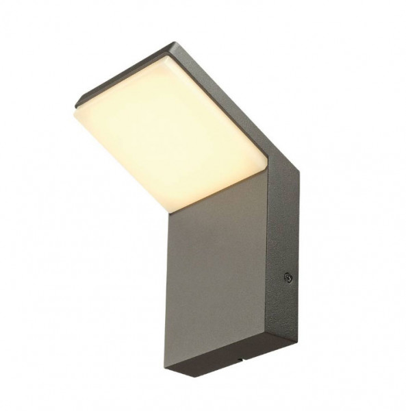 Laterally emitting LED wall luminaire for terraces, balconies, barbecue areas and much more ...