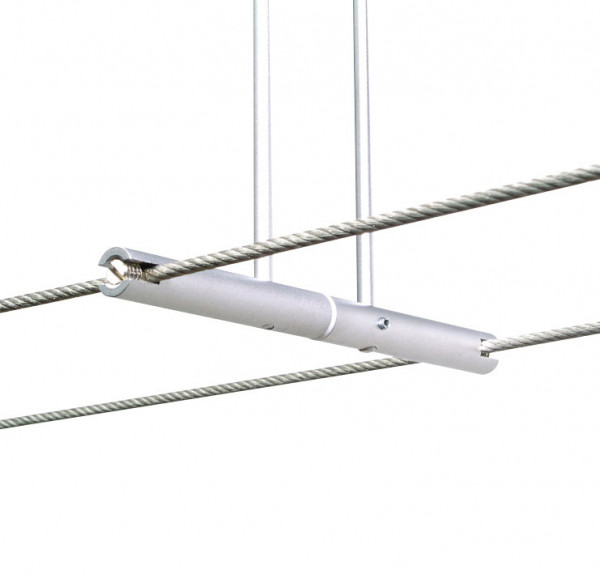 Rod infeed for the LIGHT LINE system - here the variant in surface matt chrome