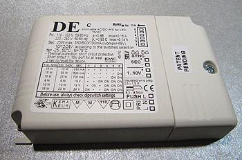 Multi-LED-Konverter 350mA-700mA, dimmbar per Taster, 1-10V