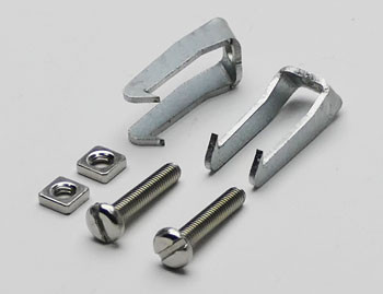 Spring clips for cavity installation