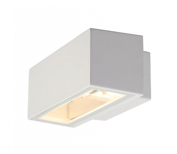 Facade spotlight with double-sided radiation narrow / wide optionally for interchangeable halogen or LED lamps R7s / 78mm