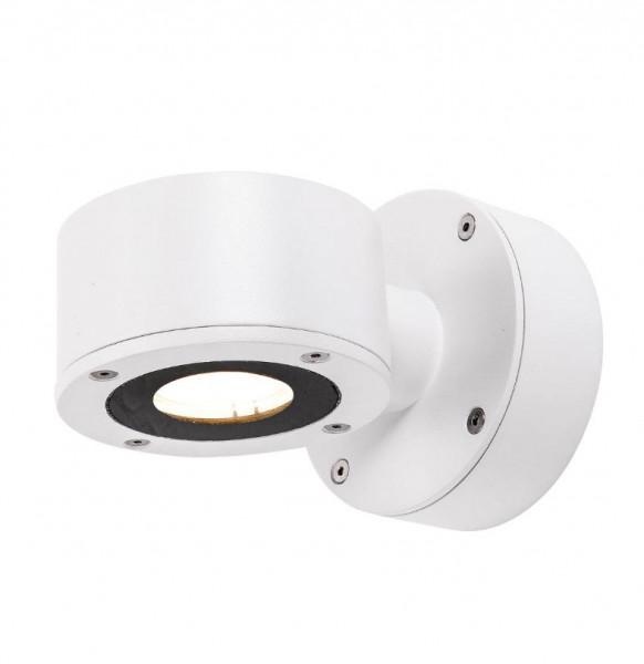 LED Fassadenstrahler in Oberfläche weiß, einseitig abstrahlend mit 450lm