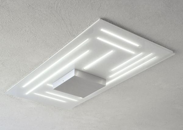 LED Deckenleuchte FINE von Escale - hier die rechteckige Variante mit 40 x 81cm