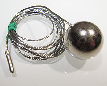 Spare ball weight with rope for ELEMENT 4 / 5