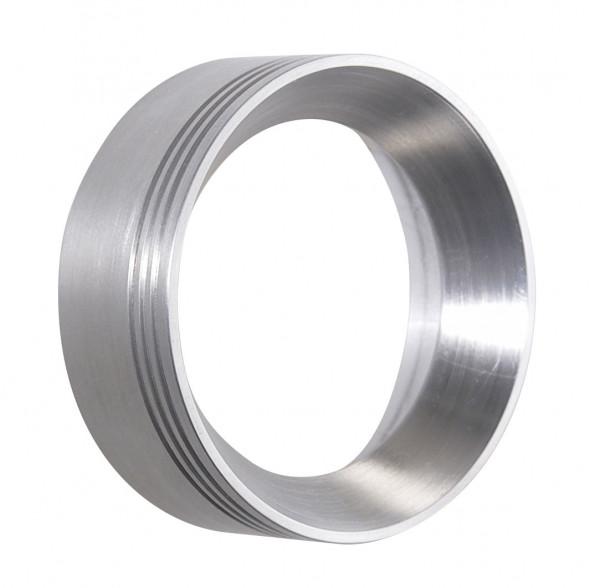 Dekoring alu - Here the variant in brushed aluminum