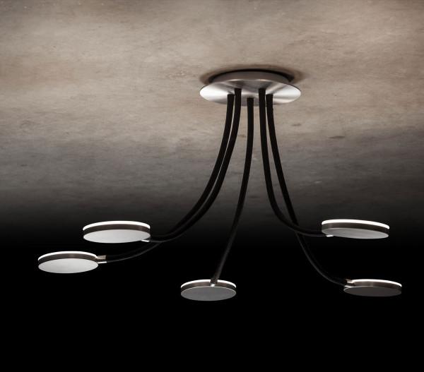LED ceiling light FLEX D5 by Holtkötter