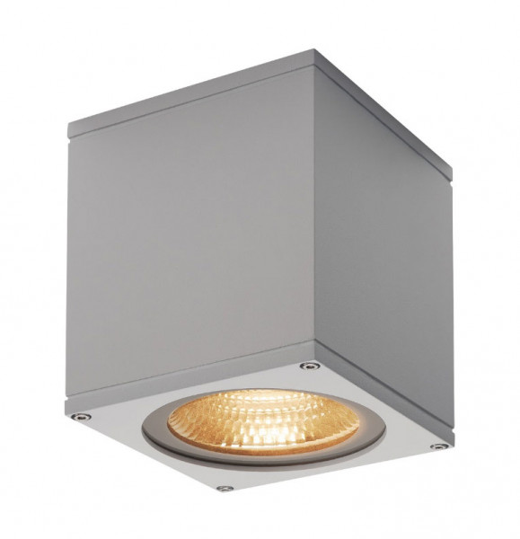 Very bright LED ceiling light in gray surface with a 21W LED and a luminous flux of 2000lm