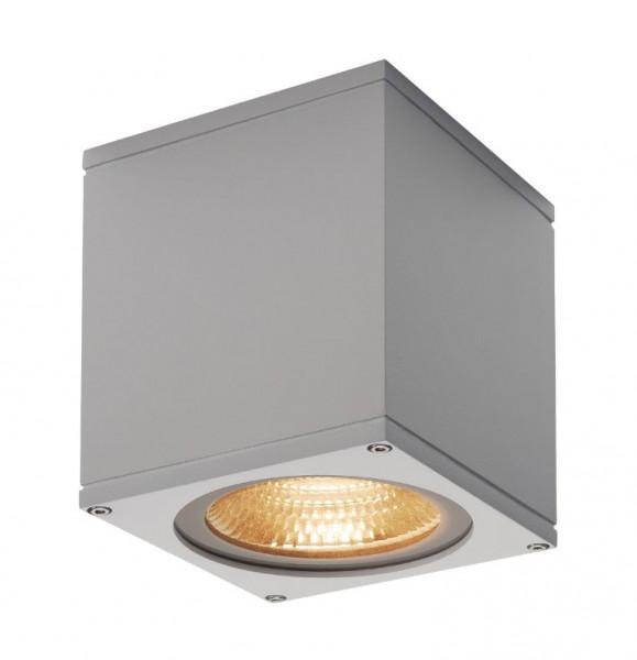 Sehr helle LED Deckenleuchte in Oberfläche grau mit einer 21W LED und einem Lichtstrom von 2000lm