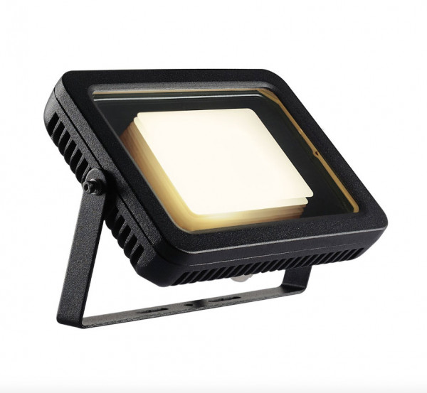 LED Objekt- oder Pflanzenstrahler in Oberfläche anthrazit mit 2m Zuleitungskabel und Stecker