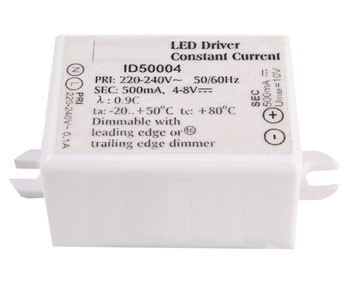 LED converter 500mA, 4W, dimmable