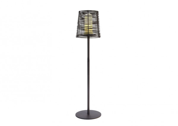 Floor lamp with degree of protection IP44 for outdoor applications such as balconies, patios, lawns etc.