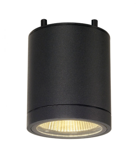 LED ceiling light with dim to warm feature and very high color rendering index
