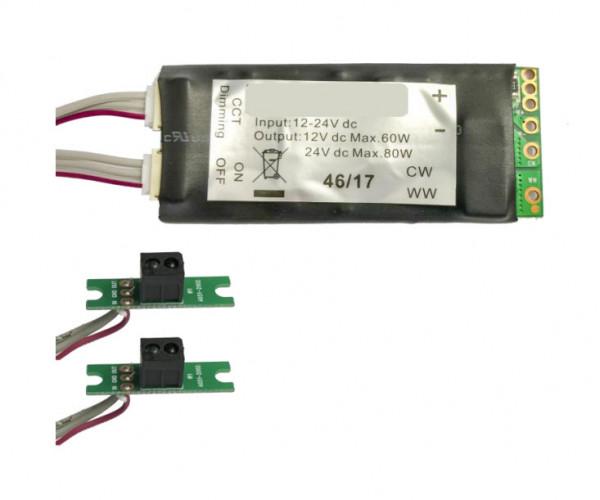 Gestensteuerung / Berührungslose Steuerung von LEDS - Platine zum Dimmen, Schalten und Einstellen der Farbtemperatur von LEDs
