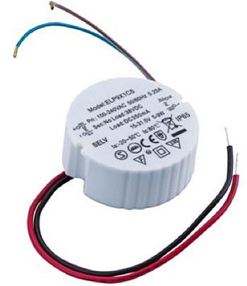 LED-Konverter 350mA, 9W, rund, IP65, nicht dimmbar