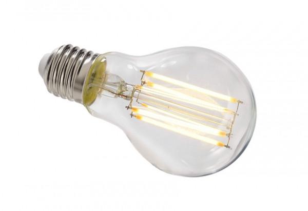 Filament-LED Leuchtmittel mit E27 Gewinde, dimmbar