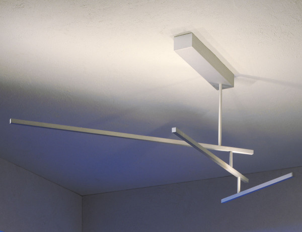 LED ceiling lamp LINEA by Escale