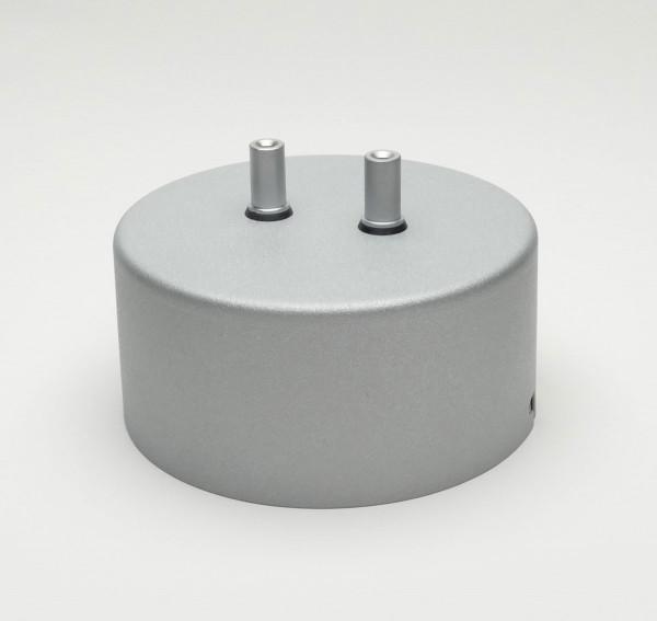 Systemtransformator in der Oberfläche chrom matt