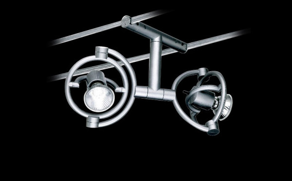 Cable system luminaire miniTensoFaridue for the 230V cable system miniTenso by Cini & Nils