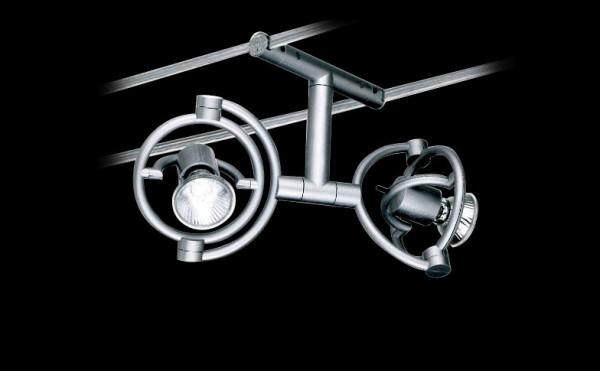 Seilsystem Leuchte miniTensoFaridue für das 230V Seilsystem miniTenso von Cini&Nils