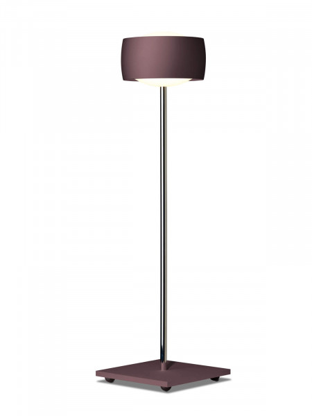 LED table lamp GRACE by Oligo with gesture control - here the variant with lamp head in espresso