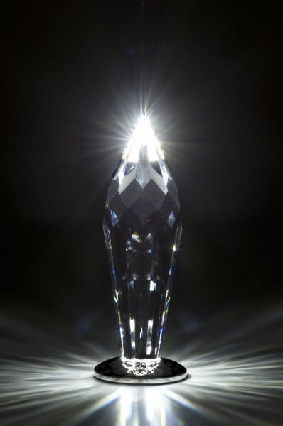 Swarovski LED Lichtpunkt mit sehr heller LED, anschlußfertig zum Betrieb an 5V Gleichspannung für den Selbstbau von Sternenhimmeln