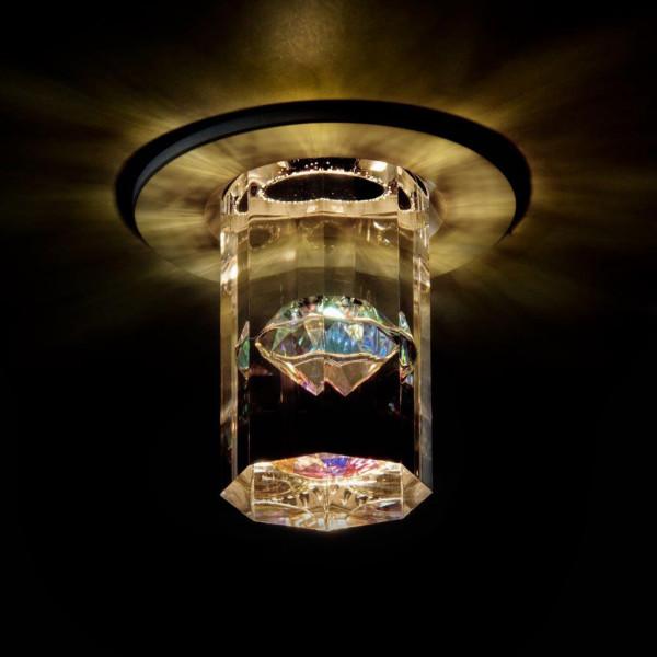 LED-Deckeneinbauleuchten DIAMAND mit Swarovski-Kristall