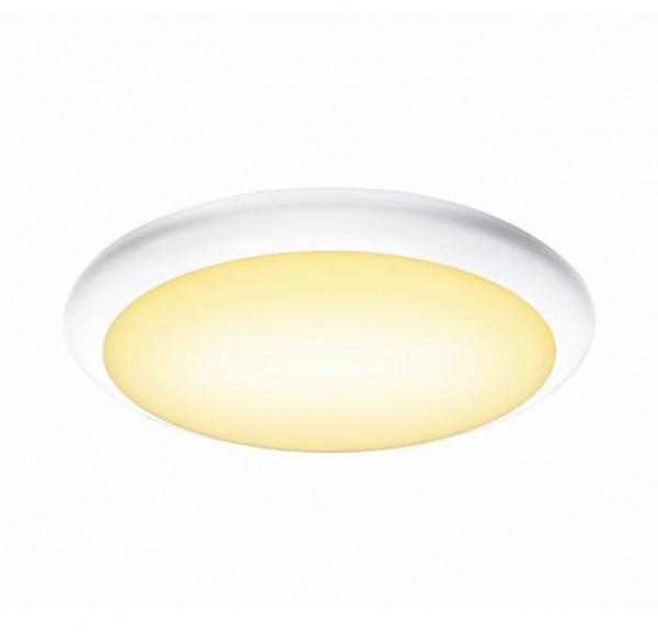 LED Fassadenleuchte mit eingebautem HF-Bewegungsmelder zum automatischen Einschalten des Lichtes beim Erkennen einer Bewegung